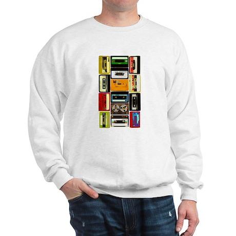 Retro Colored Cassettes Sweatshirt