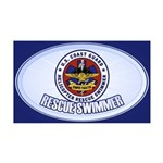 Rescue Swimmer 38.5 x 24.5 Wall Peel