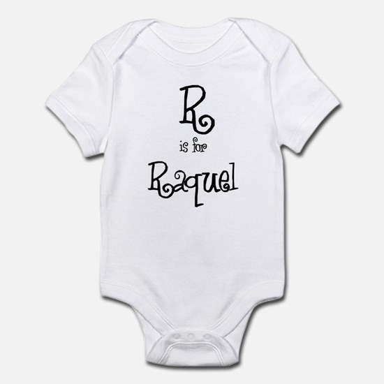 R Is For Raquel Infant Creeper