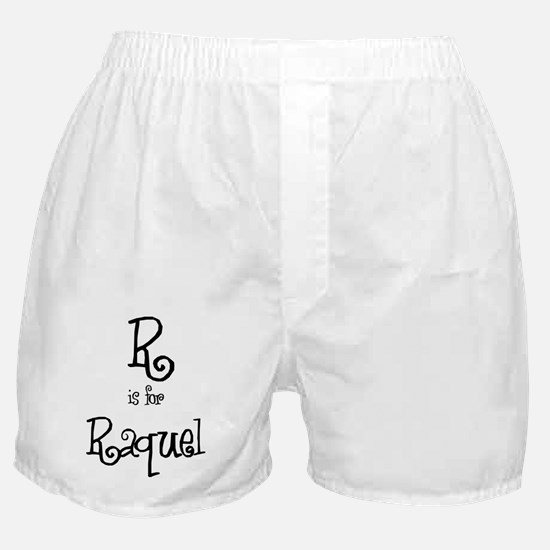 R Is For Raquel Boxer Shorts