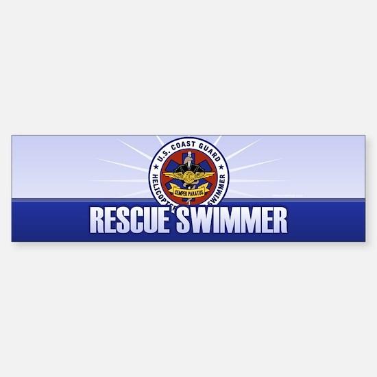 Rescue Swimmer Sticker (Bumper)