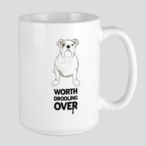 English Bulldog Large Mug