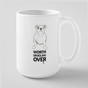 English Bulldog Large Mug
