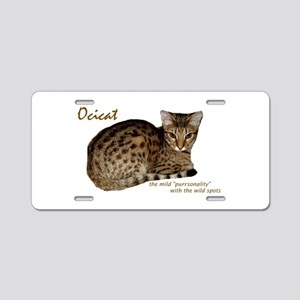 Ocicat Aluminum License Plate