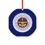 Rescue Swimmer Ornament (Round)