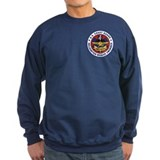 Coast guard rescue swimmer Sweatshirt (dark)