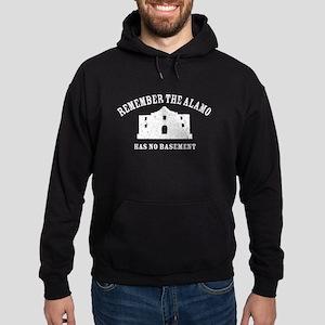 Vintage Alamo No Basement Hoodie (dark)