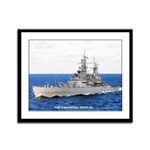USS BAINBRIDGE Framed Panel Print