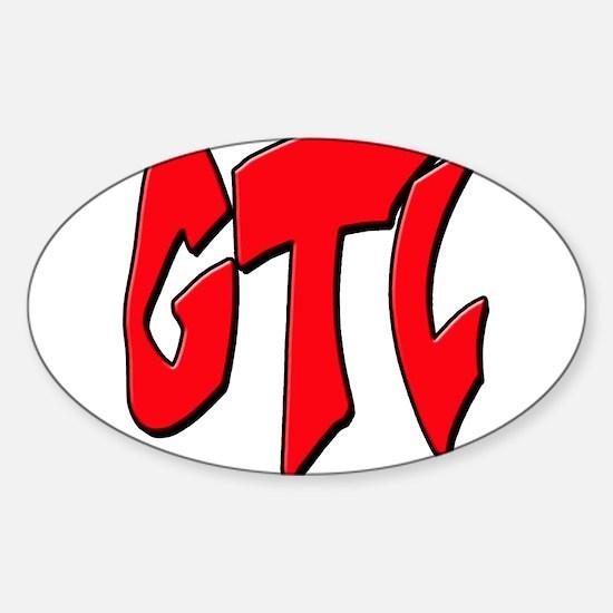 GTL2 Sticker (Oval)