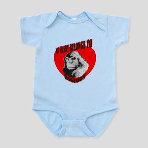 MY HEART BELONGS TO BIGFOOT Infant Bodysuit
