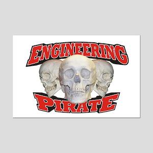 Engineering Pirate Mini Poster Print