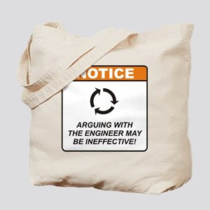 Engineer / Argue Tote Bag