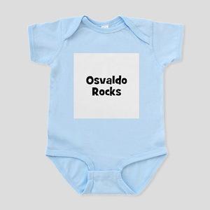 Osvaldo Rocks Infant Creeper
