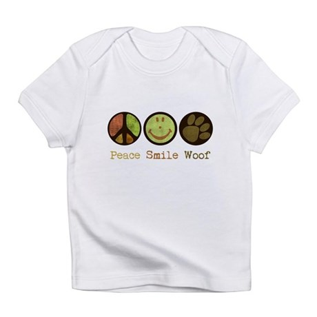 Smile and WOOF Infant T-Shirt