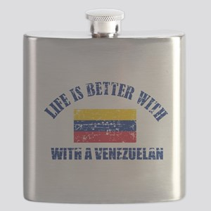 venezuelan designs Flask