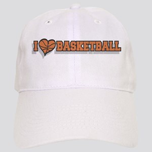 I Love Basketball Cap