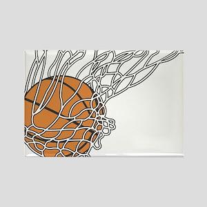 Basketball117 Rectangle Magnet