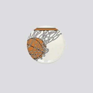 Basketball117 Mini Button