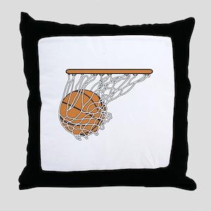 Basketball117 Throw Pillow