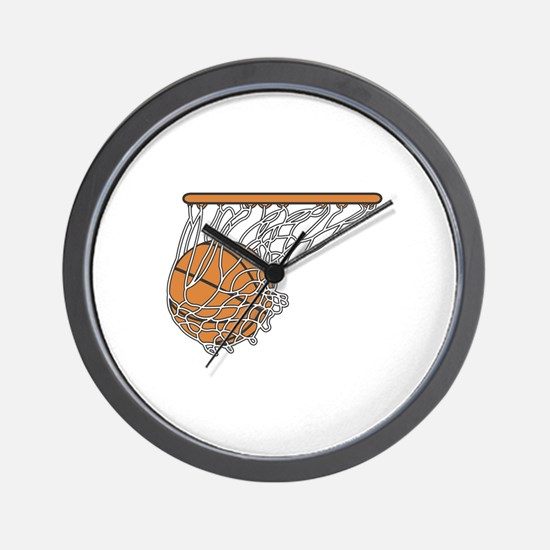 Basketball117 Wall Clock