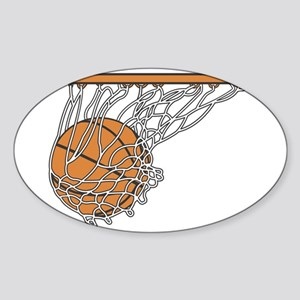 Basketball117 Oval Sticker