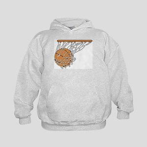 Basketball117 Kids Hoodie