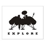 Viking / Explore Small Poster