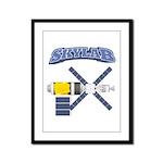 Skylab Space Station Framed Panel Print