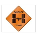ISS / Science Zone Small Poster