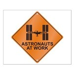 ISS / Work Small Poster