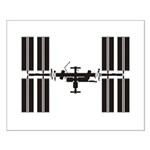 Space Station Small Poster