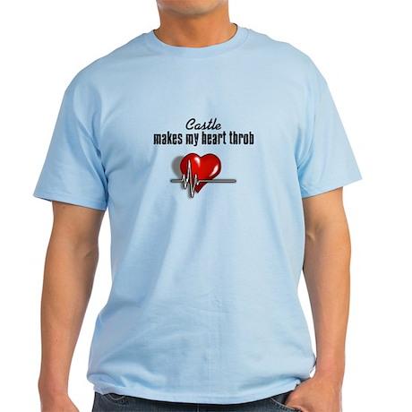 Castle makes my heart throb Light T-Shirt
