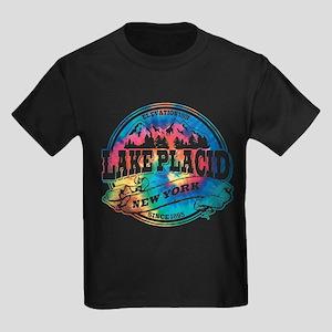 Lake Placid Old Circle Kids Dark T-Shirt