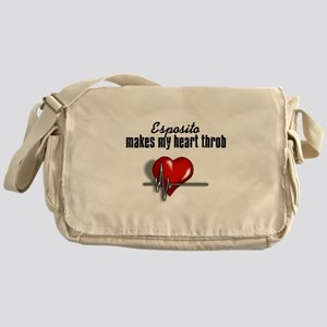 Esposito makes my heart throb Messenger Bag