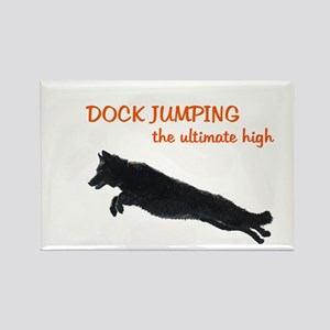 dock jumper Rectangle Magnet