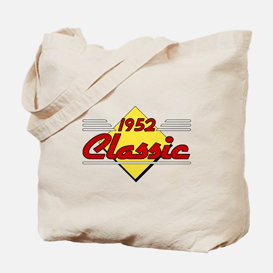 Classic 1952 Sign Tote Bag