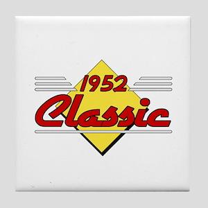 Classic 1952 Sign Tile Coaster