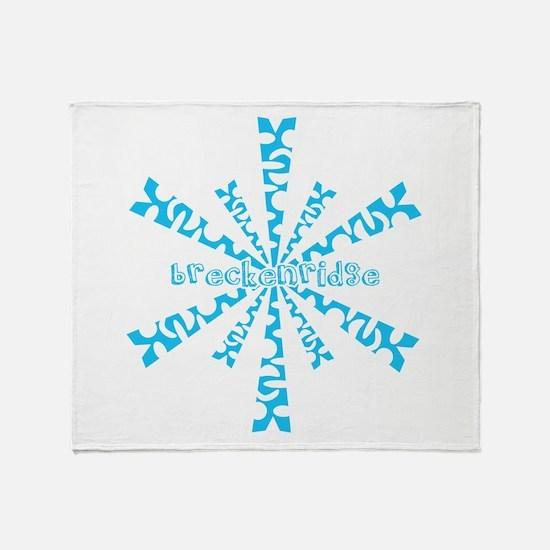 Cute Breckenridge colorado Throw Blanket