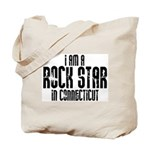 Rock Star In Connecticut Tote Bag