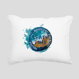 Florida - Haulover Park Rectangular Canvas Pillow