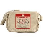 Warning / Spacecraft Messenger Bag