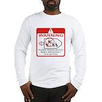 Warning / Spacecraft Long Sleeve T-Shirt