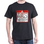 Warning / Spacecraft Dark T-Shirt