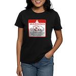 Warning / Spacecraft Women's Dark T-Shirt