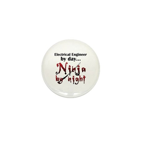 Electrical Engineer Ninja Mini Button (10 pack)