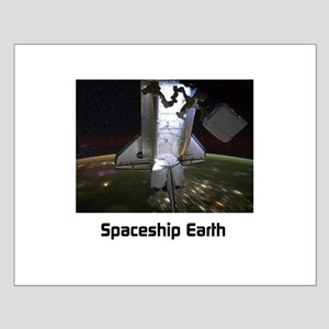 Spaceship Earth Small Poster