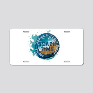 Florida - Indian Harbour Be Aluminum License Plate