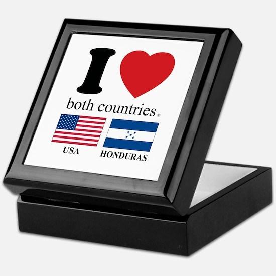 USA-HOUNDURAS Keepsake Box