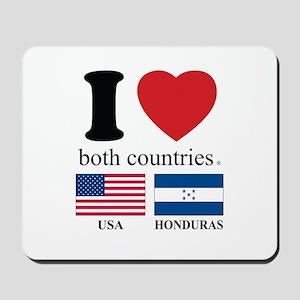 USA-HOUNDURAS Mousepad