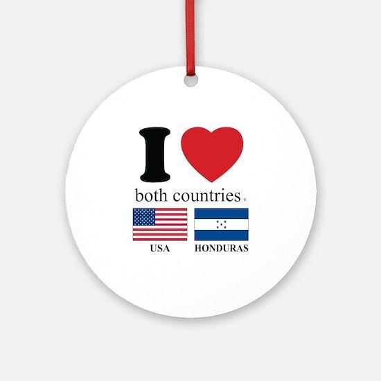 USA-HOUNDURAS Ornament (Round)